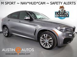 2017_BMW_X6 xDrive35i AWD_*M SPORT, HEADS-UP DISPLAY, ADAPTIVE CRUISE, BLIND SPOT & LANE DEPARTURE ALERT, NAVIGATION, DRIVING ASSISTANT, TOP/SIDE/REAR CAMERAS, HARMAN/KARDON, APPLE CARPLAY_ Round Rock TX