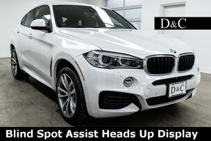 2017 BMW X6 xDrive35i M Sport Blind Spot Assist Heads Up Display