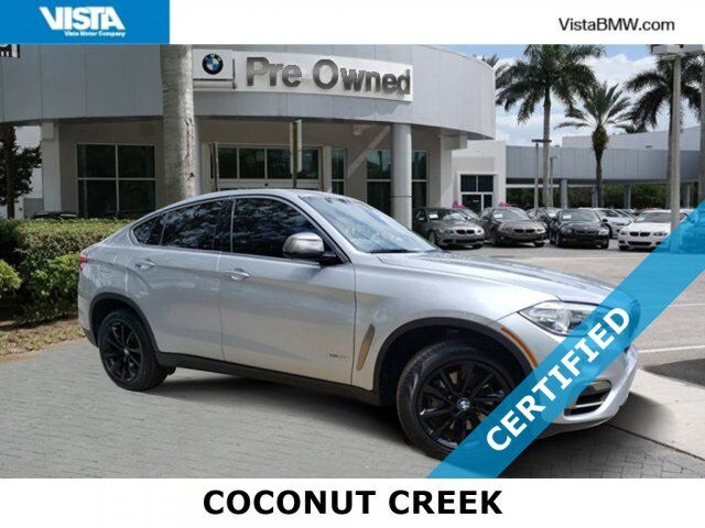 2017 BMW X6 xDrive50i Coconut Creek FL