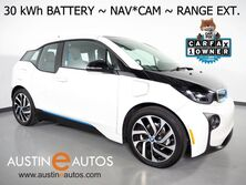 BMW i3 94h w/Range Extender (33 kWh Battery) *NAVIGATION, BACKUP-CAMERA, FAST CHARGE, COMFORT ACCESS, HEATED SEATS, SAT RADIO, BLUETOOTH PHONE & AUDIO 2017