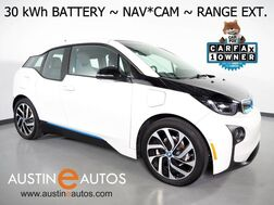 2017_BMW_i3 94h w/Range Extender (33 kWh Battery)_*NAVIGATION, BACKUP-CAMERA, FAST CHARGE, COMFORT ACCESS, HEATED SEATS, SAT RADIO, BLUETOOTH PHONE & AUDIO_ Round Rock TX