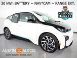 2017 BMW i3 94h w/Range Extender (New 33 Battery) *NAVIGATION, BACKUP-CAMERA, FAST CHARGE, COMFORT ACCESS, HEATED SEATS, SAT RADIO, BLUETOOTH PHONE & AUDIO