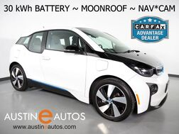 2017_BMW_i3 94h w/Range Extender (New 33 kWh Battery)_*MOONROOF, NAVIGATION, BACKUP-CAMERA, FAST CHARGE, COMFORT ACCESS, HEATED SEATS, SAT RADIO, BLUETOOTH PHONE & AUDIO_ Round Rock TX