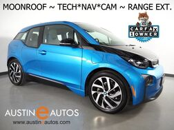 2017_BMW_i3 Deka World w/Range Extender_*MOONROOF, NAVIGATION, DRIVING ASSISTANT, ADAPTIVE CRUISE, BACKUP-CAMERA, COMFORT ACCESS, HEATED SEATS, BLUETOOTH PHONE & AUDIO_ Round Rock TX