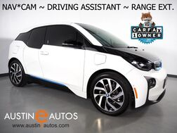 2017_BMW_i3 Deka World w/Range Extender_*NAVIGATION, BACKUP-CAMERA, DRIVING ASSISTANT, ADAPTIVE CRUISE, HEATED SEATS, COMFORT ACCESS, BLUETOOTH PHONE & AUDIO_ Round Rock TX