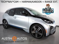 2017_BMW_i3 Deka World w/Range Extender_*NAVIGATION, DRIVING ASSISTANT, ADAPTIVE CRUISE, BACKUP-CAMERA, COMFORT ACCESS, HEATED SEATS, 20 INCH WHEELS, HARMAN/KARDON_ Round Rock TX