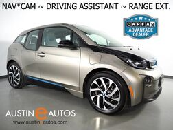 2017_BMW_i3 Deka World w/Range Extender_*NAVIGATION, DRIVING ASSISTANT, ADAPTIVE CRUISE, BACKUP-CAMERA, COMFORT ACCESS, HEATED SEATS, BLUETOOTH PHONE & AUDIO_ Round Rock TX