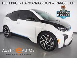 2017_BMW_i3 Deka World w/Range Extender_*NAVIGATION, DRIVING ASSISTANT, ADAPTIVE CRUISE, BACKUP-CAMERA, COMFORT ACCESS, HEATED SEATS, HARMAN/KARDON, BLUETOOTH PHONE & AUDIO_ Round Rock TX