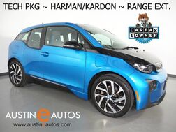 2017_BMW_i3 Deka World w/Range Extender_*NAVIGATION, DRIVING ASSISTANT, ADAPTIVE CRUISE, BACKUP-CAMERA, HARMAN/KARDON, COMFORT ACCESS, HEATED SEATS, BLUETOOTH_ Round Rock TX