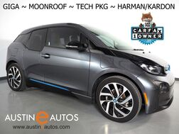2017_BMW_i3 Giga World w/Range Extender_*MOONROOF, NAVIGATION, DRIVING ASSISTANT, ADAPTIVE CRUISE, LEATHER, BACKUP-CAMERA, HEATED SEATS, HARMAN/KARDON, BLUETOOTH PHONE & AUDIO_ Round Rock TX
