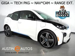 2017_BMW_i3 Giga World w/Range Extender_*NAVIGATION, BACKUP-CAMERA, DRIVING ASSISTANT, ADAPTIVE CRUISE, HEATED SEATS, COMFORT ACCESS, BLUETOOTH PHONE & AUDIO_ Round Rock TX