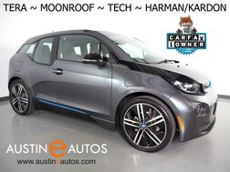 2017_BMW_i3 Tera World w/Range Extender_*MOONROOF, NAVIGATION, DRIVING ASSISTANT, ADAPTIVE CRUISE, COLLISION ALERT w/BRAKING, LEATHER, REAR CAMERA, HARMAN/KARDON, HEATED SEATS, 20 INCH WHEELS, BLUETOOTH_ Round Rock TX