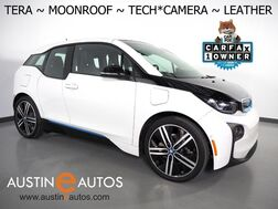 2017_BMW_i3 Tera World w/Range Extender_*MOONROOF, NAVIGATION, DRIVING ASSISTANT, ADAPTIVE CRUISE, COLLISION ALERT w/BRAKING, LEATHER, REAR CAMERA, HEATED SEATS, 20 INCH WHEELS, BLUETOOTH_ Round Rock TX
