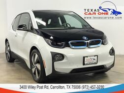 2017_BMW_i3_W/ RANGE EXTENDER MEGA NAVIGATION LEATHER/CLOTH HEATED SEATS REAR CAMERA BLUETOOTH_ Carrollton TX