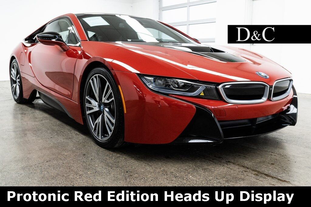 2017 BMW i8 Protonic Red Edition Heads Up Display Portland OR