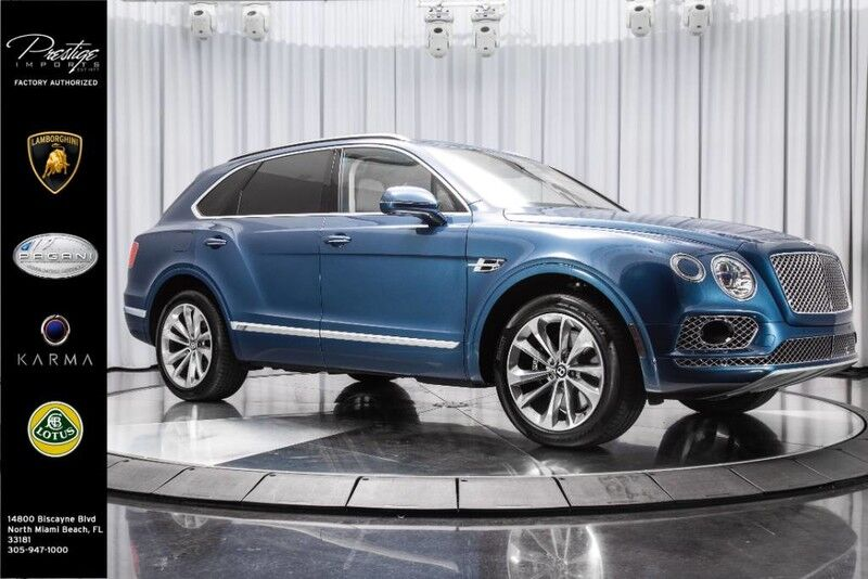 2017_Bentley_Bentayga_W12_ North Miami FL