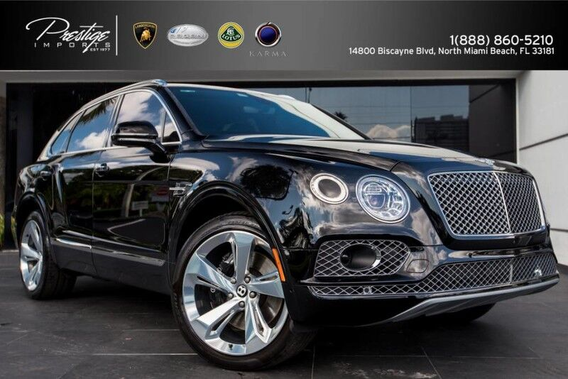 2017_Bentley_Bentayga_W12_ North Miami Beach FL
