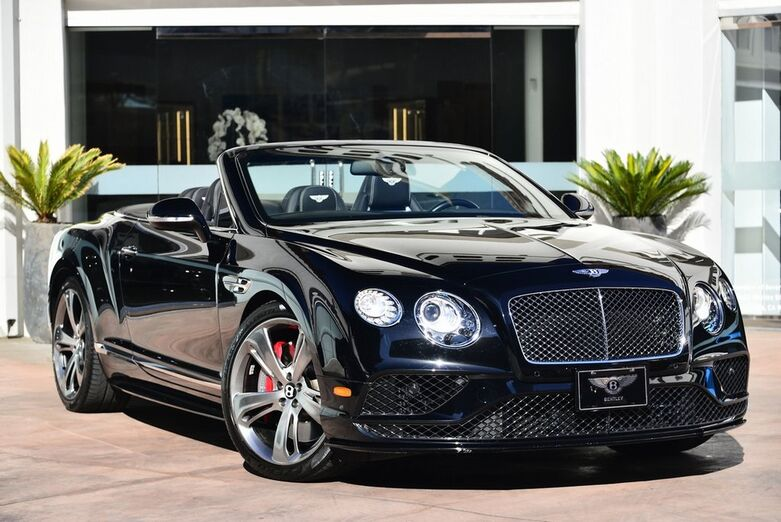 2017 Bentley Continental GT Speed  Beverly Hills CA