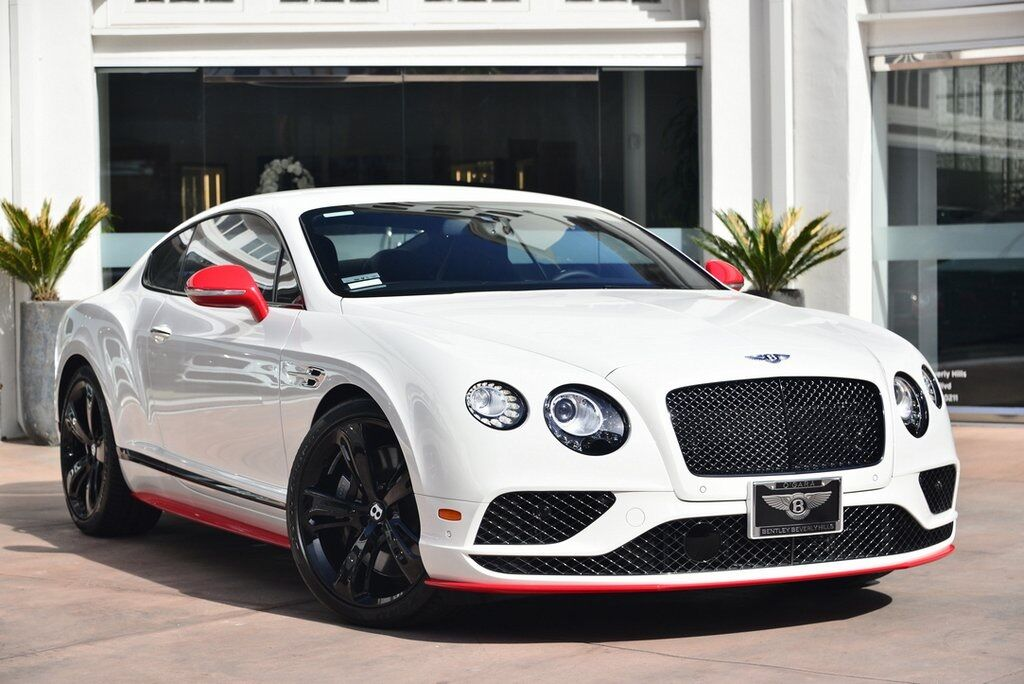 2017 Bentley Continental GT Speed Coupe  Beverly Hills CA