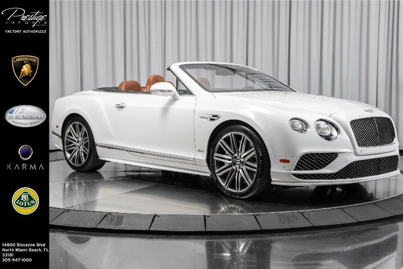 2017 Bentley Continental GT Speed North Miami Beach FL