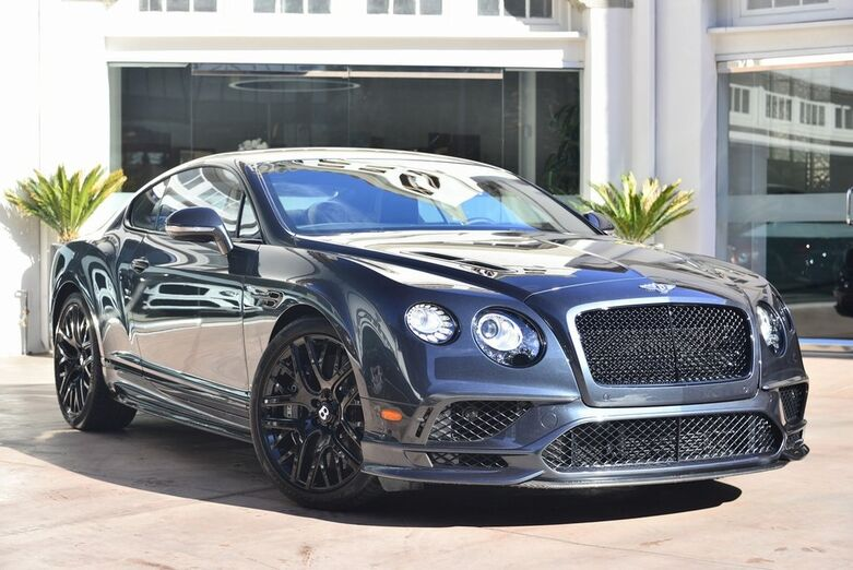 2017 Bentley Continental GT Supersports  Beverly Hills CA