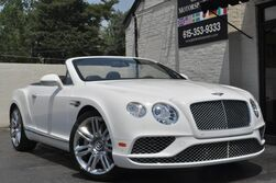 Bentley Continental GT V8 Convertible/Mulliner Driving Specification w/ 21'' Wheels/Diamond Quilted Leather/Heated & Ventilated Massaging Seats/Piano Black Int. Trim/Neck Warmer/Bright Chromed Lower Grill/Over $241k MSRP 2017