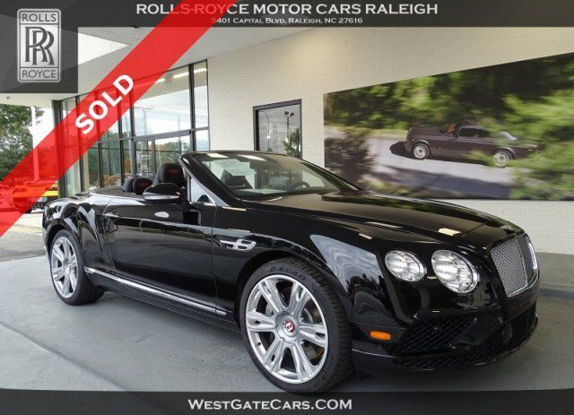 2017 Bentley Continental GT V8 Raleigh NC