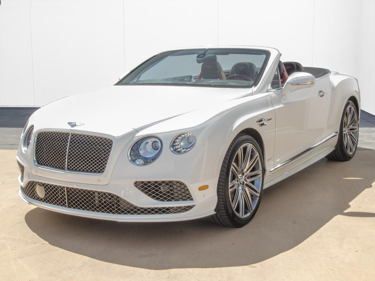 2017 Bentley Continental GTC Speed GT Speed