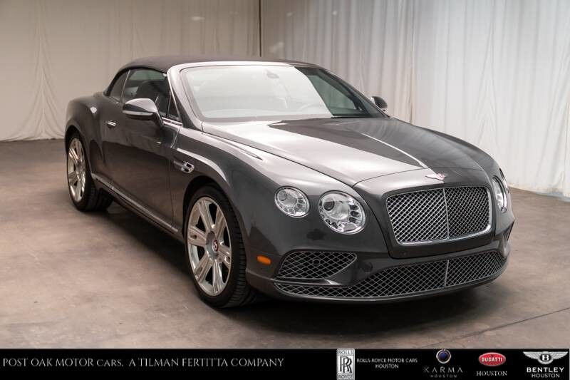 2017 Bentley Continental GTC V8 Houston TX