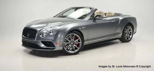 2017 Bentley Continental GTC V8 S