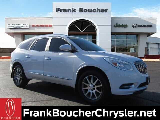 2017 Buick Enclave Leather Group Janesville WI