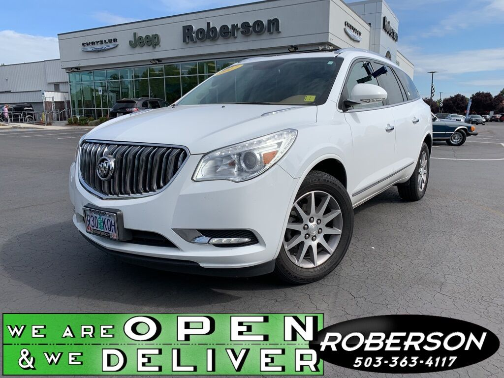 2017 Buick Enclave Leather Group 5GAKRBKD1HJ115918