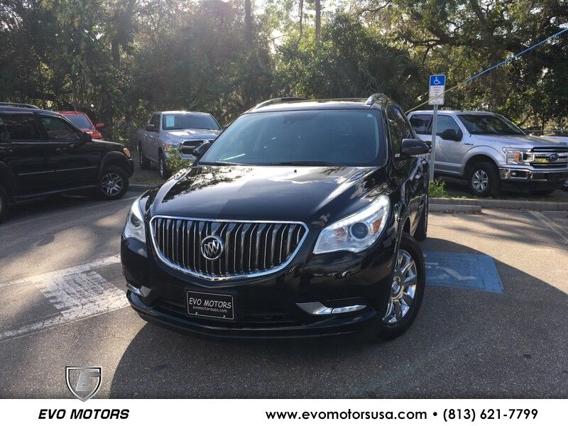 2017 Buick Enclave Leather PANORAMIC ROOF. Seffner FL