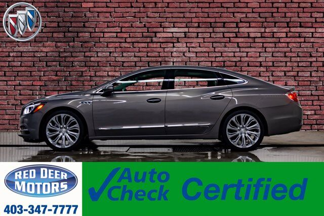 2017 Buick LaCrosse AWD Premium Leather Roof Nav BCam Red Deer AB