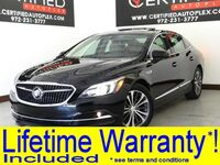 Buick LaCrosse ESSENCE SL PKG NAVIGATION VIA APPLE CARPLAY PANORAMA LEATHER HEATED 2017