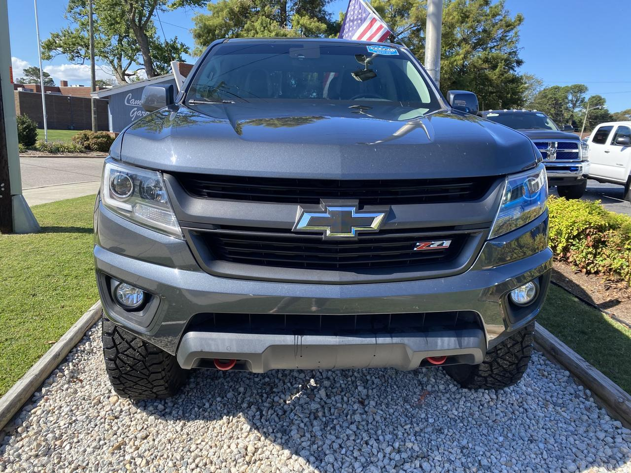 2017 CHEVROLET COLORADO LT CREW CAB 4X4, WARRANTY, LIFTED, LEATHER, BLUETOOTH, NAV, TOW PKG, 1 OWNER, CLEAN CARFAX! Norfolk VA