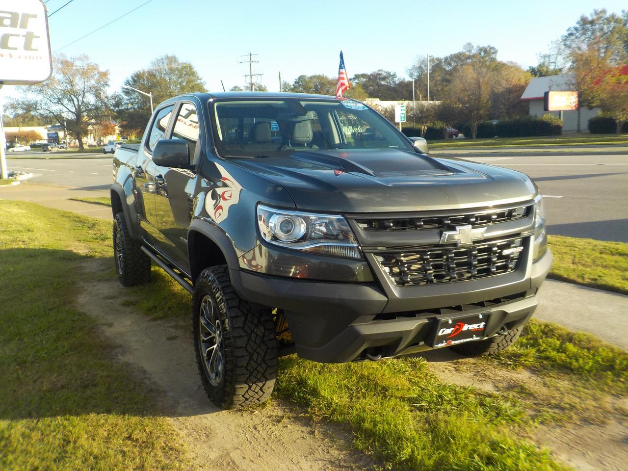 2017 CHEVROLET COLORADO ZR2 CREW CAB 4X4, ONE OWNER, LEATHER, NAVIGATION, BLUETOOTH, TOW PACKAGE, ONLY 35K MILES! Virginia Beach VA