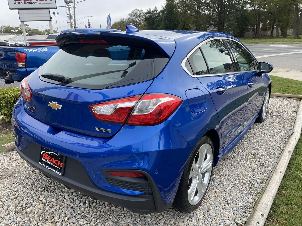 2017 CHEVROLET CRUZE PREMIER HATCHBACK, WARRANTY, RS PKG, LEATHER, SUNROOF, BLUETOOTH, HEATED/COOLED SEATS, CLEAN! Norfolk VA