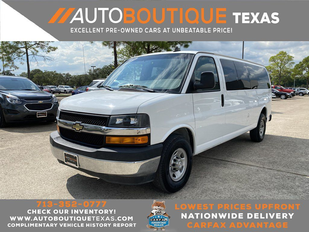 2017 CHEVROLET EXPRESS G3500 LT