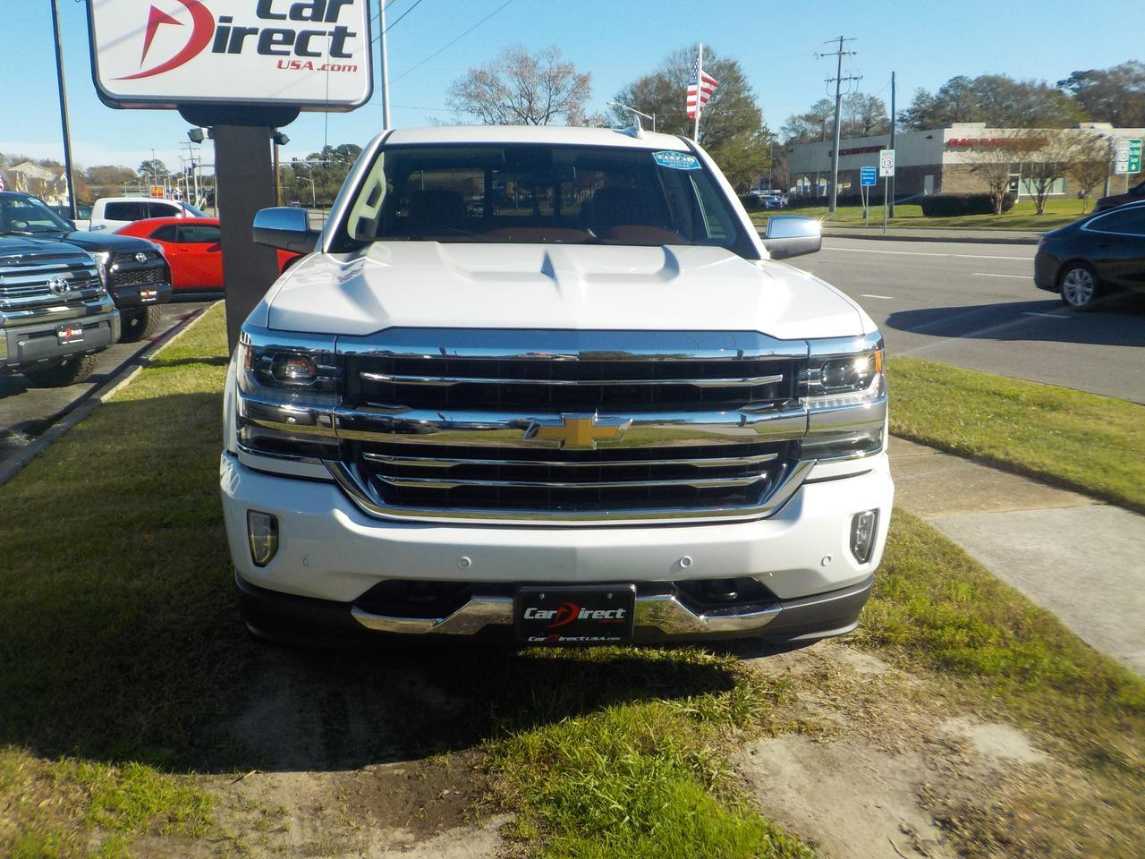 2017 CHEVROLET SILVERADO HIGH COUNTRY CREW CAB 1500 4X4,ONSTAR, BLUETOOTH, BED LINER, BACK UP CAMERA, SUNROOF, TOW PACKAGE! Virginia Beach VA