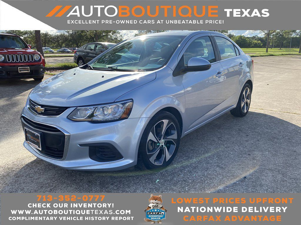 2017 CHEVROLET SONIC PREMIER Houston TX