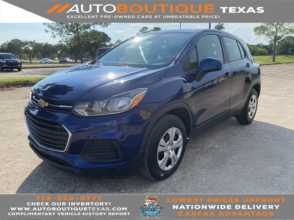 2017 CHEVROLET TRAX LS LS Houston TX
