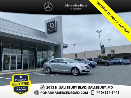 2017_Cadillac_ATS_2.0L Turbo ** Pohanka Certified 10 year / 100,000 **_ Salisbury MD