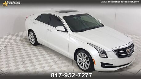 2017_Cadillac_ATS_2.0L Turbo BUCKET SEATS,SUNROOF,BCK-CAM,BLUETOOTH,HID SEATS.._ Euless TX