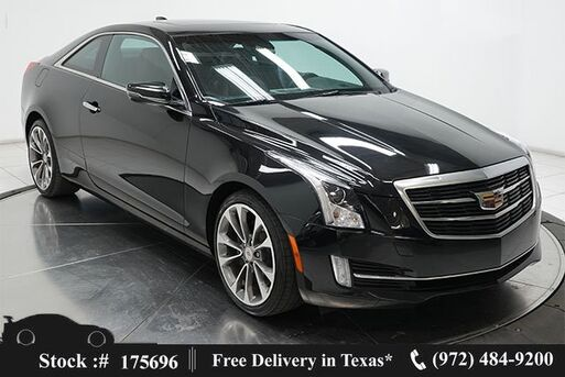 2017_Cadillac_ATS_2.0L Turbo Luxury Coupe NAV,CAM,SUNROOF,BLIND SPOT_ Plano TX