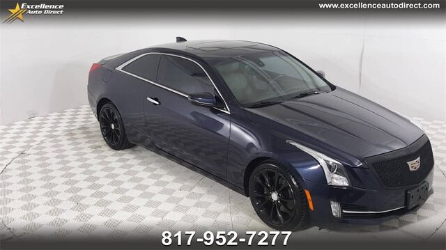 2017 Cadillac ATS 2.0L Turbo Luxury PADDLE SHIFTER.SUN/NAV,BCK-VAM,BLUE TOOTH,HEATED S Euless TX