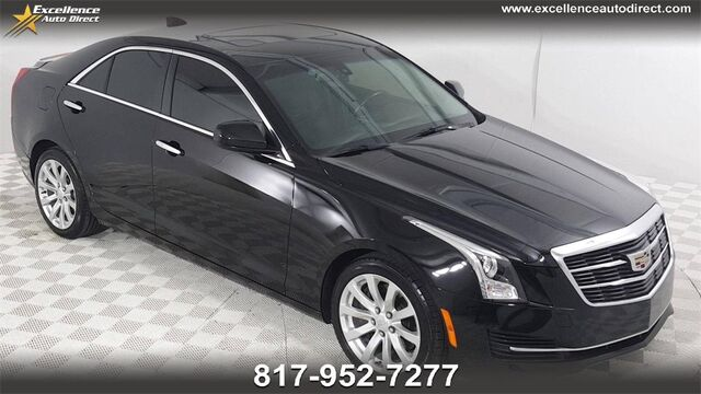 2017 Cadillac ATS 2.0L Turbo SUNROOF, CRUISE CTRL, BCK-UP, BT,... Euless TX