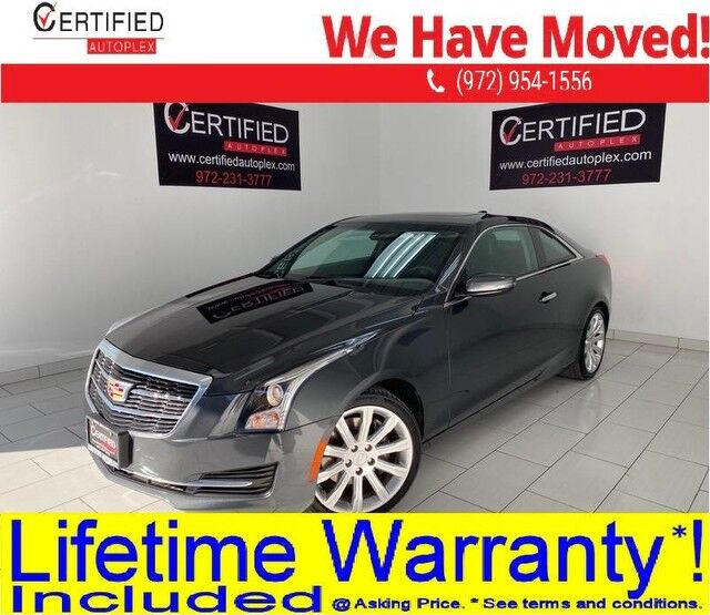 2017 Cadillac ATS COUPE SUNROOF REAR CAMERA LEATHER HEATED SEATS BOSE SOUND SYSTEM KEYLESS GO Dallas TX