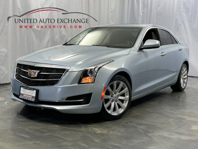 2017 Cadillac ATS Sedan 2.0L Turbo Engine / AWD / Sunroof / Bluetooth / Rear View Camera / Push Start / Heated Leather Seats / BOSE Premium Sound System Addison IL