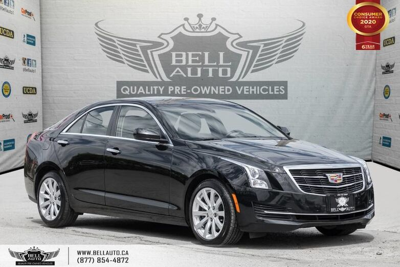 2017 Cadillac ATS Sedan AWD, NO ACCIDENT, REAR CAM, SUNROOF, LEATHER Toronto ON